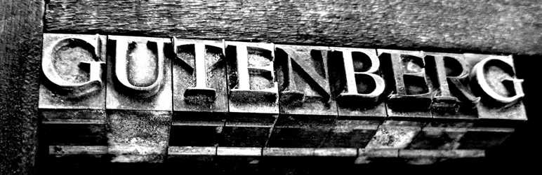 Banner image for the Gutenberg plugin